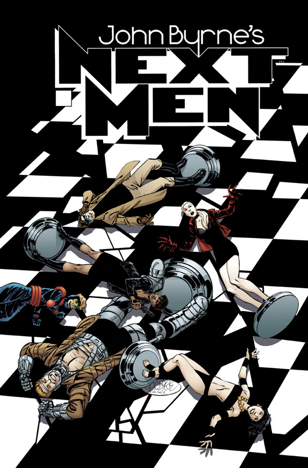 John Byrne's Next Men #1 (December 2010)