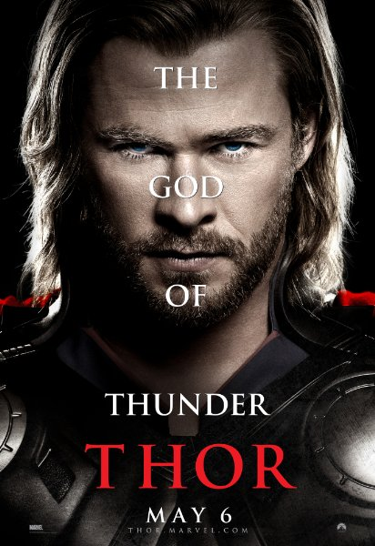 thor movie poster. two other Thor posters,
