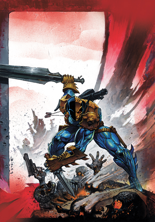 Deathstroke #1 (ships September 2011)