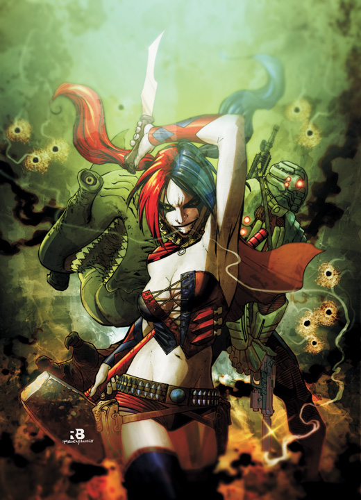 Suicide Squad #1 (ships September 2011)