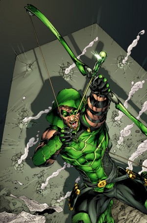 Green Arrow #1 DC Comics Relaunch 2011