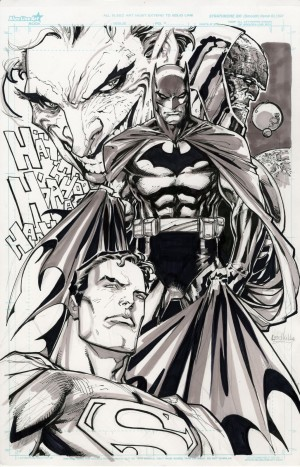 Ken Lashley Superman Batman Joker