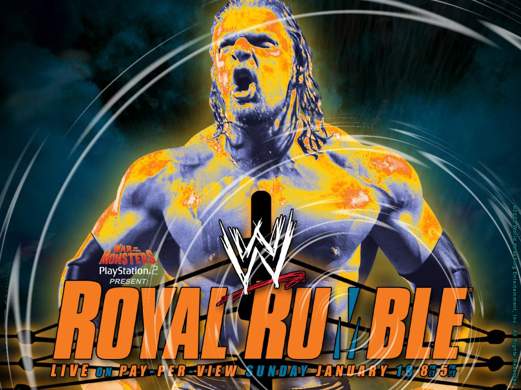 WWE Royal Rumble 2003 Wallpaper 2