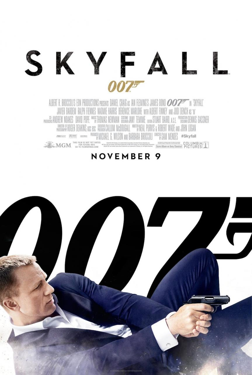 All James Bond Movies Posters 1 Design Per Day