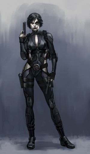 Domino in Deadpool video game