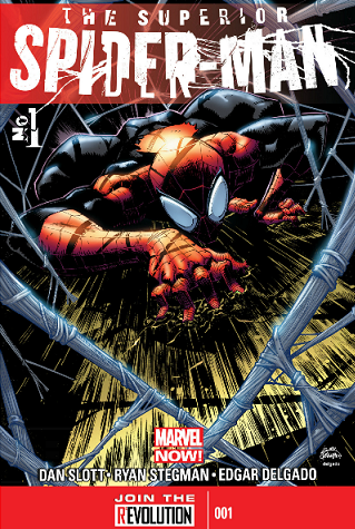 superior Spiderman 1 cover