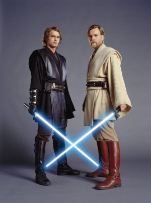 annakin and obi wan