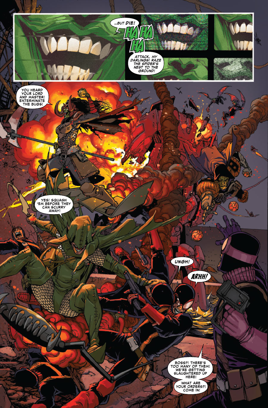 superior spiderman 28 spoilers preview amazing spider