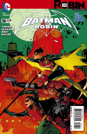 Batman and Robin #36 Robin Rises Part 4 Spoilers and Review 1