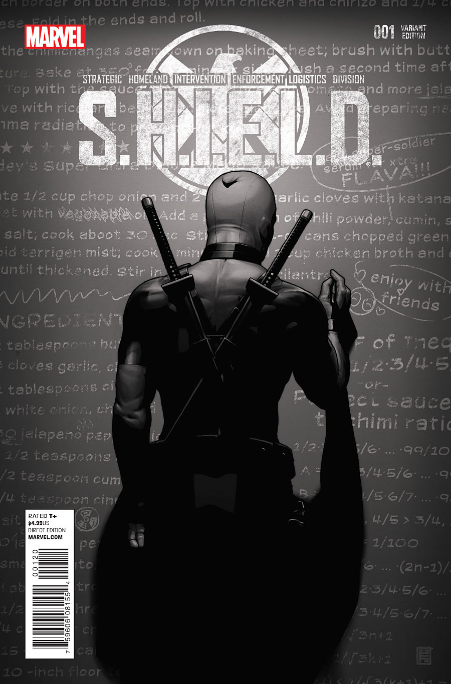 Agents of Shield Cover Shield 1 Variant Cover 2
