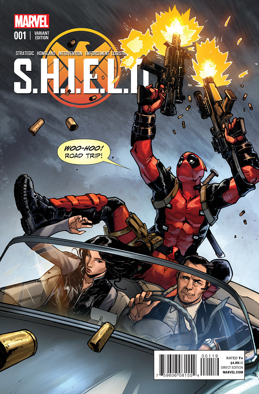 Agents of Shield Cover Shield 1 Variant Cover 3