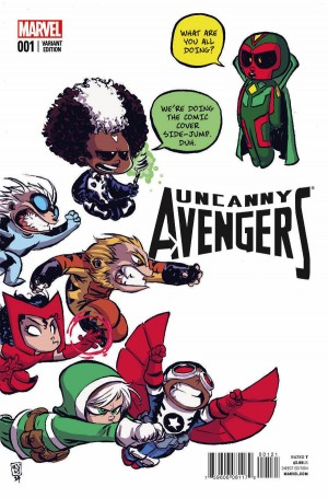 Uncanny Avengers 1 review spoilers 2