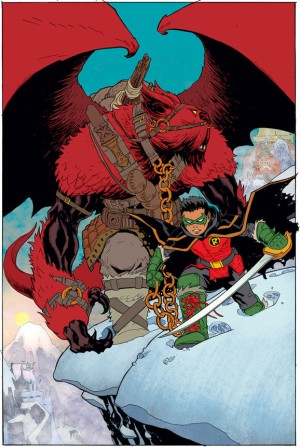 DC Comics June 2015 Robin Son of Batman #1