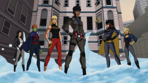 Milestone Rocket Young Justice Invasion