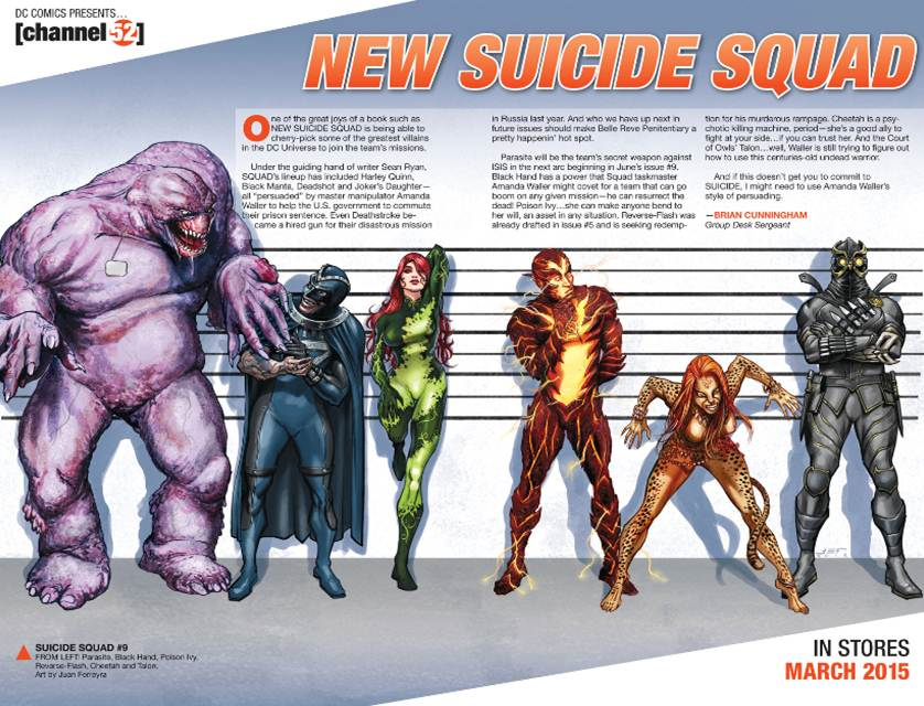 Post-Convergence New Suicide Squad Line-Up Spoilers Leaves ... Will Smith Deadshot