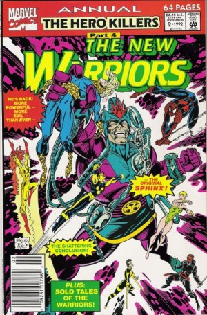New Warriors Annual #2
