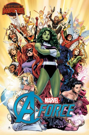 Secret Wars 2015 A-Force all-female Avengers
