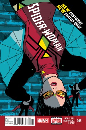 Spider-Woman #5 spoilers preview 1