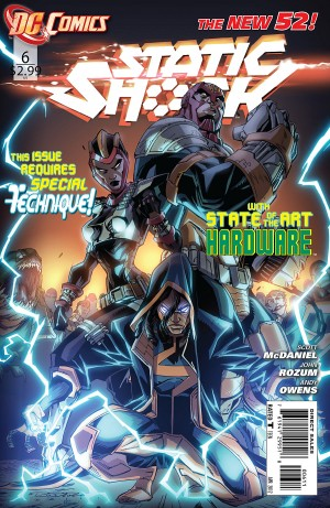 Static Shock #6 DC New 52
