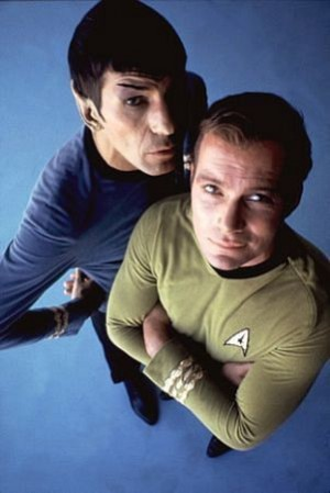 William Shatner Leonard Nimoy Star Trek