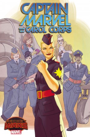 AC Secret Wars 2015 Captain Marvel and the Carol Corps