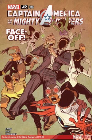 Aris 4 Captain America and the Mighty Avengers #6