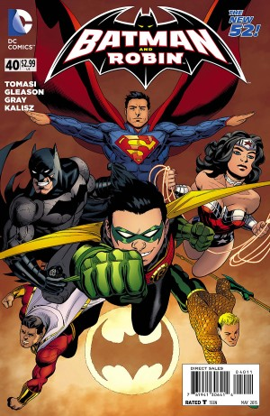Batman and Robin 40 review spoilers 1