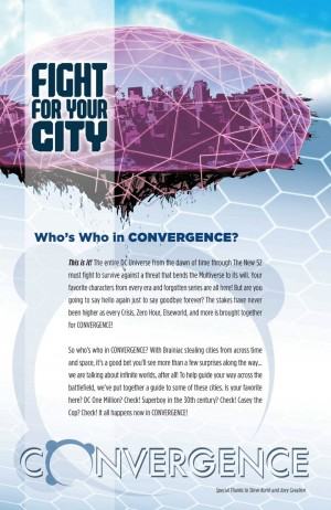 Convergence #0 City Who's Who
