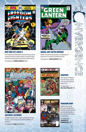 Convergence #0 City Who's Who WildCATS