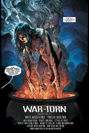 Donna Troy Wonder Woman #36