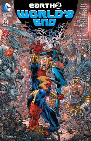 Earth 2 World's End #25 A