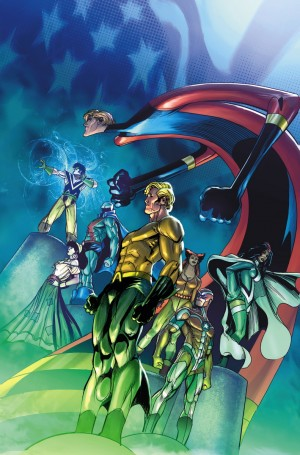 H Convergence Justice League of America #1 Detroit