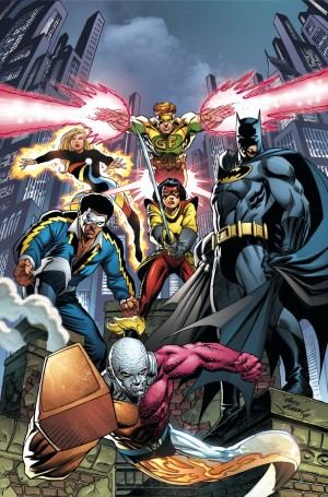 I Convergence Batman and the Outsiders #1
