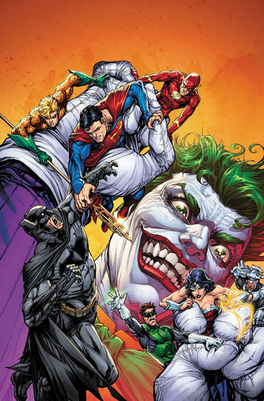Justice League of America and Joker