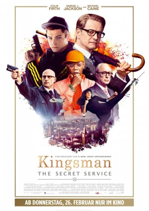 Kingsman Secret Service movie poster 3