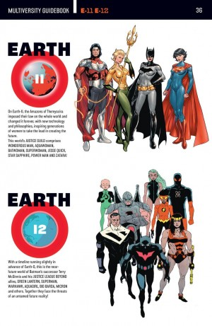 Multiversity Guide Book Earth 11 & Earth 12 Batman Beyond