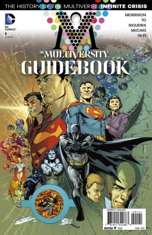 Multiversity Guidebook #1 variant