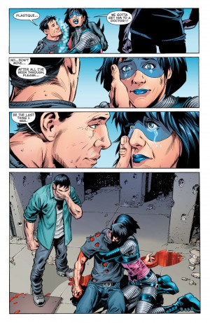 New 52 Futures End #46 Spoilers RIP Terry McGinnis Batman Beyond 2