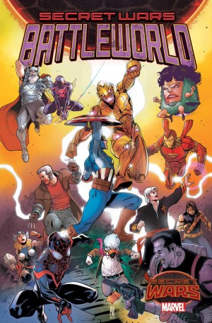 Secret Wars 2015 Battleworld series