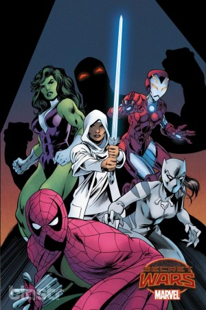 Secret Wars 2015 Captain Britain and the Mighty Defenders