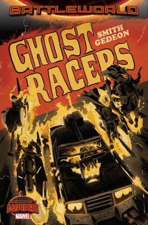 Secret Wars 2015 Ghost Racers or Ghost Riders