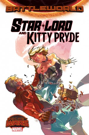 Secret Wars 2015 Star-Lord and Kitty Pryde
