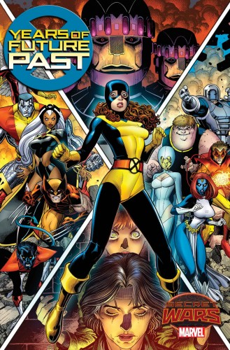 Secret Wars 2015 X-Men Days vs Years of Future Past