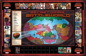 Secret Wars Battleworld Map UPDATED