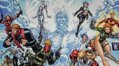 WildCATS Gen13 Poster Jim Lee