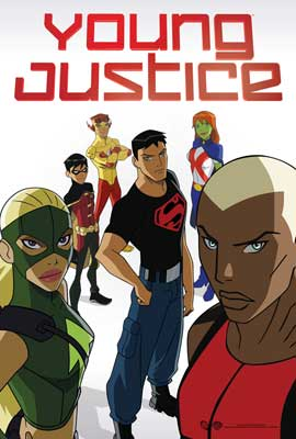 Young Justice TV white