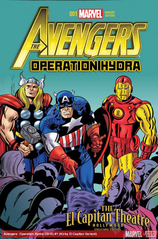 Marvel Comics Review Amp Spoilers Avengers Operation Hydra