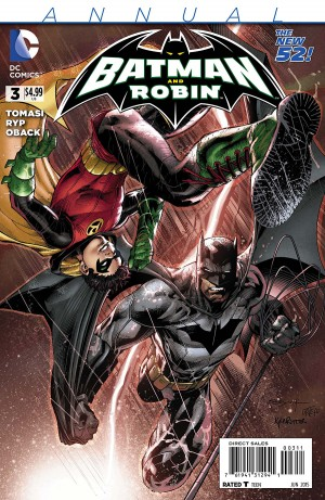 Batman and Robin Annual 3 review spoilers