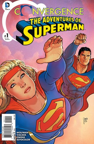 CONVERGENCE - ADVENTURES of SUPERMAN 1