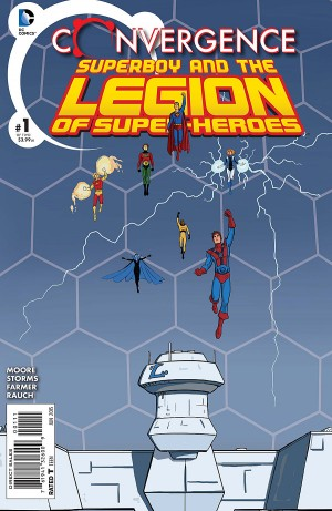 CONVERGENCE - SUPERBOY and the LEGION of SUPER-HEROES 1